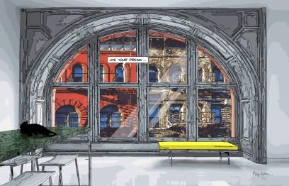 Arc Window -- Medium 90x60 229€ // Large 140x90 429€
