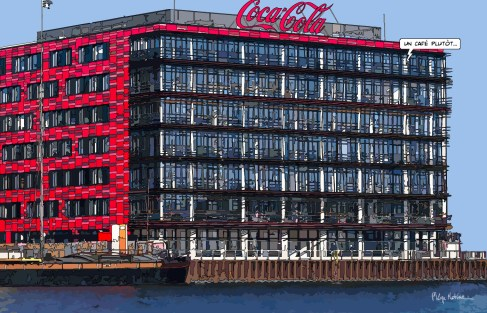 Berlin Coke FR -- Medium 90x60 229€ // Large 140x90 429€