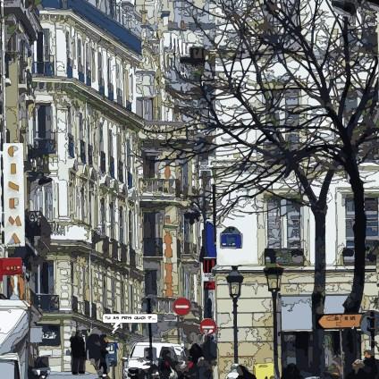 Sorbonne -- Medium 80x80 239€ // Large100x100 299€ // XLarge120x120 449€