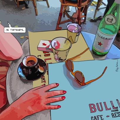 Bullier -- Medium 80x80 239€ // Large 100x100 299€
