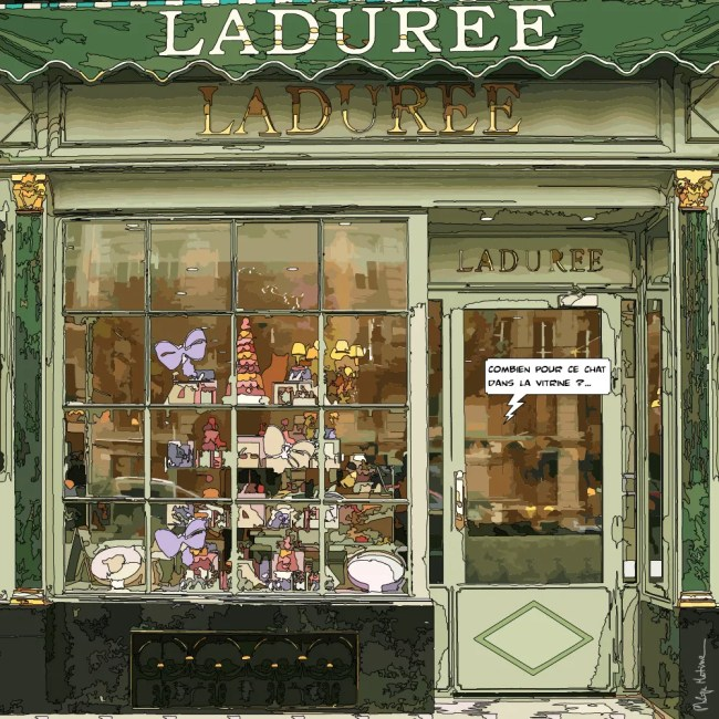 Ladurée -- Medium 80x80 239€ // Large 100x100 299€