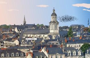 Angers // Toits -- Medium 100x70 259€ // Large 140x90 449€