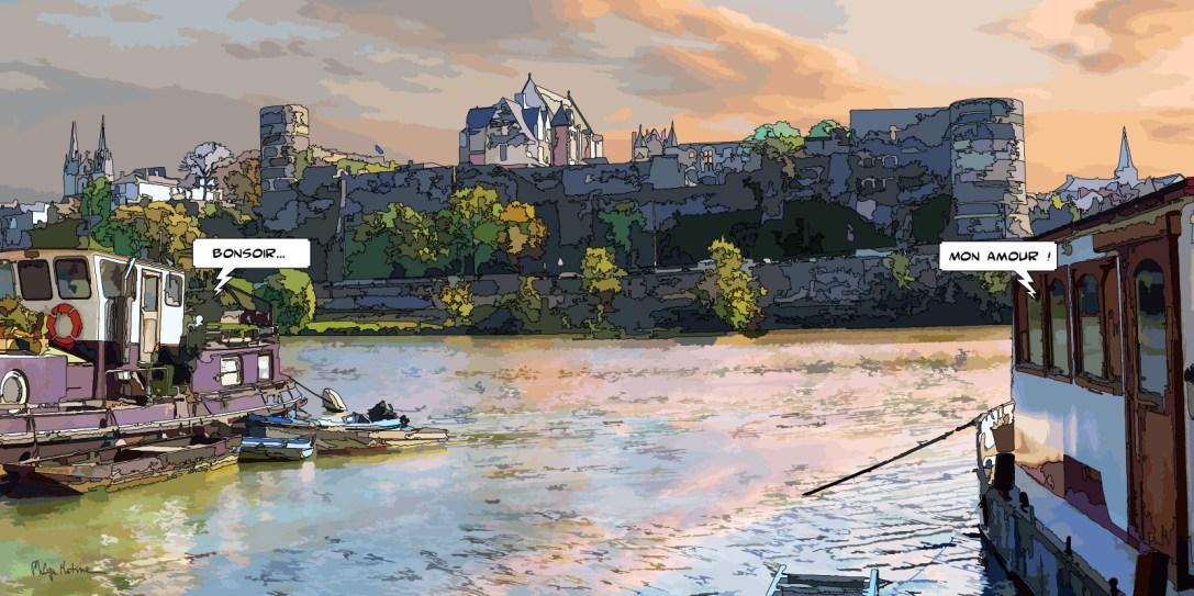Angers // péniches – Medium 100×50 229€ // Large 160×80 479€ // XLarge 180×90 579€