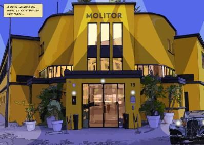 Molitor // extérieur -- Medium 100x70 259€ // Large 140x100 459€