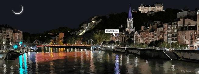 Lyon // Pont rouge -- Medium 100x40 199€ // Large 160x60 429€ // XLarge 180x70 499€