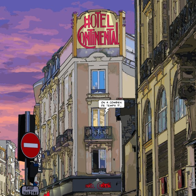 Angers // Hotel Continental-- Medium 80x80 239€ // Large 100x100 299€ // XLarge 120x120 449€