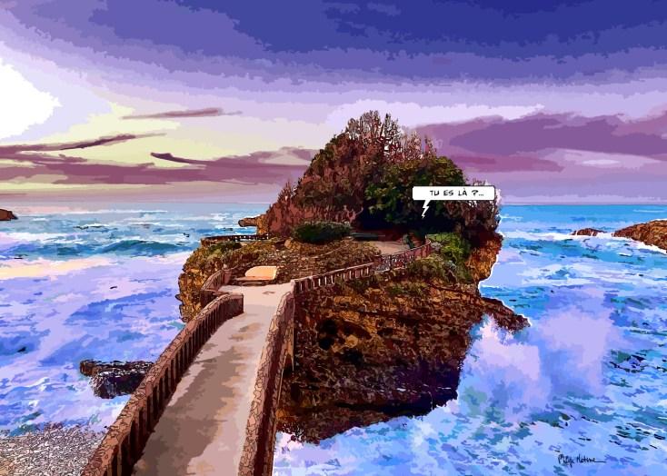 Biarritz // Rocher du Basta -- Medium 100x70 259€ // Large 140x100 459€