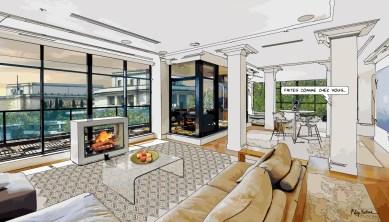Paris // Loft Trocadéro -- Medium 90x50 219€ // Large 140x80 429€