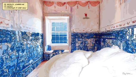 Lisbon // room-azulejos -- Medium 90x50 219€ // Large 140x80 429€