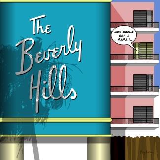 LA // Berverly Hills Hotel -- Medium 80x80 239€ // Large 100x100 299€ // XLarge 120x120 449€