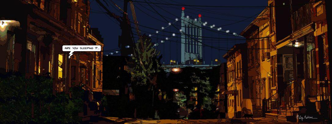 Brooklyn // Night-- Medium 40x100 199€ // Large 160x60 399€