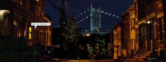Brooklyn // Night-- Medium 40x100 199€ // Large 160x60 429€
