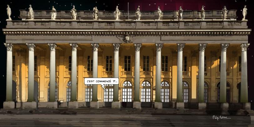 Bordeaux // Grand Théâtre -- Medium 100x50 229€ // Large 140x70 399€