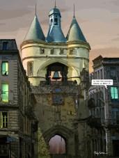 Bordeaux // Grosse Cloche -- Medium 60x80 219€ // Large 90x120 379€