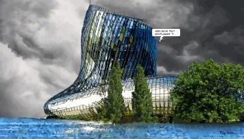 Bordeaux // Cité du Vin -- Medium 90x50 219€ // Large 140x80 429€