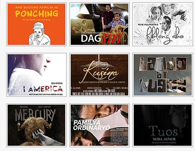 Cinemalaya 2016 - entries