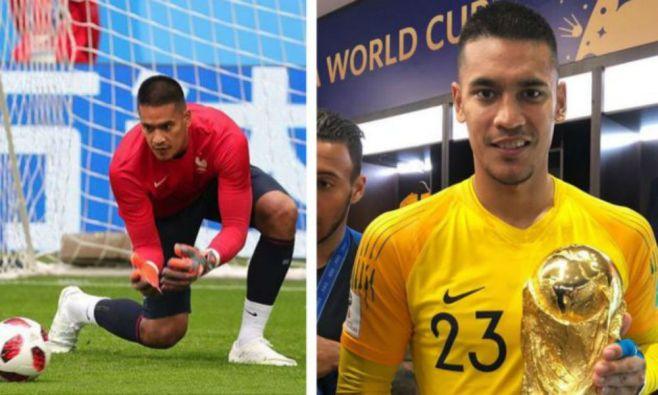 1262d2535c2 Filipino-French footballer Alphonse Areola celebrates World Cup win ...