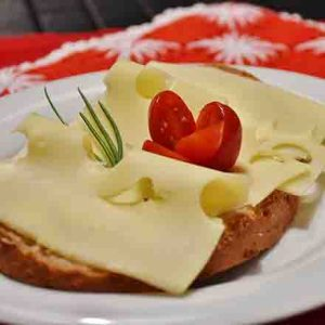 Imported Cheese on Toast