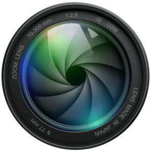 Cropped camera icon logo png
