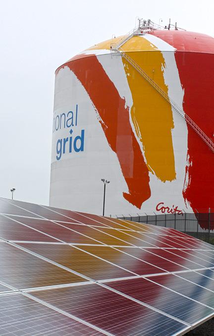 Solar And Corita Gas Tank Boston MA