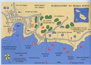 Plan Général - Marsalforn To Reqqa Point