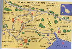 Plan Général - Mgarr-Ix-Xini