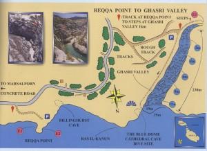 Plan Général - Reqqa Point To Ghasri Valley