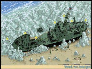 Zabargad - Epave du cargo Russe