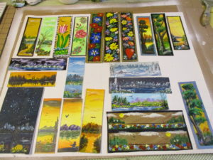 A few of the bookmarks, save from the early days.