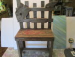 Vintage decorative chair/start