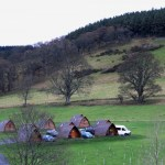 Hobbit Pods At The Base Of The Glentress Trails