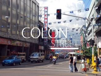 colon street map cebu city colon street night market hotels history philippines