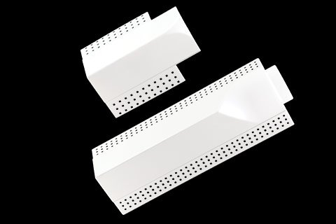 gripstik vinyl drywall corner transition caps - 1-1/2