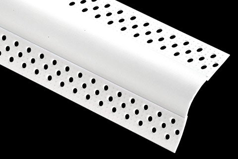 "vinyl bullnose splay corner bead - 3/4"" Bullnose Splay"