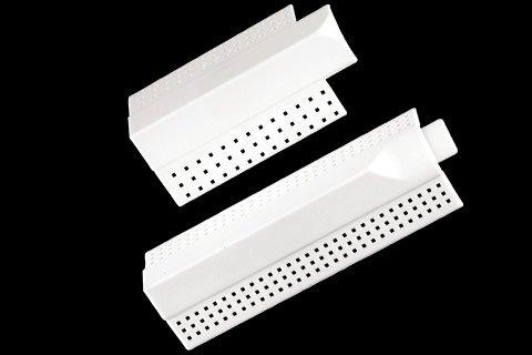 "gripstik vinyl drywall corner transition cap - 3/4"" transition cap"
