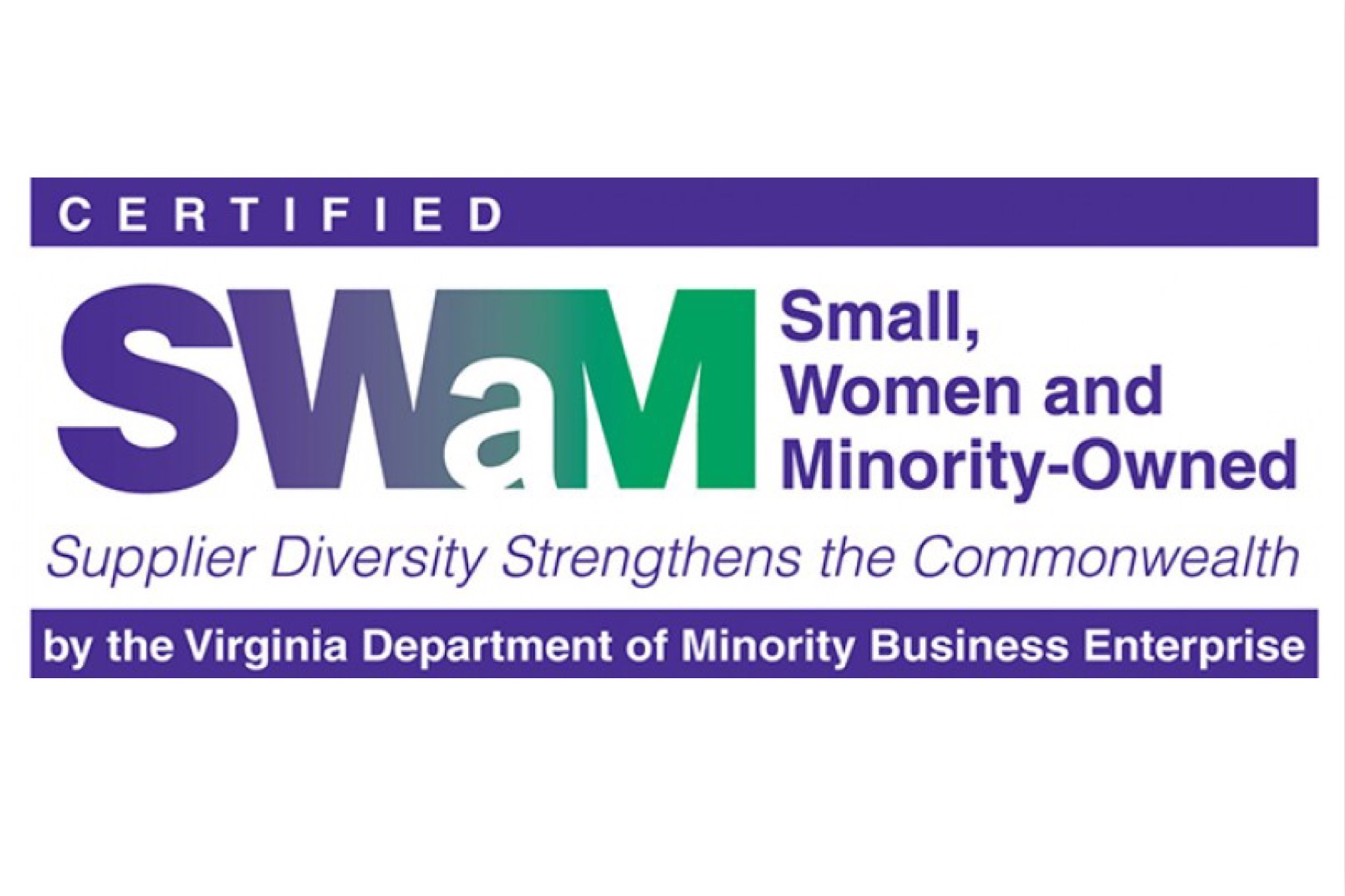 Certified Small, Woman and Minority-Owned