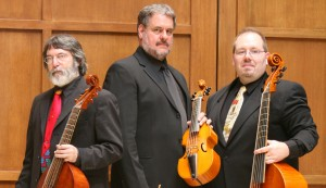 Phillip Serna Performing with the period-instrument ensemble the Spirit of Gambo - a Chicago Consort of Viols