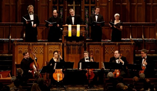 Phillip Serna Performing with the period-instrument ensemble the Newberry Consort of Viols at the 1st Chicago Early Music Festival