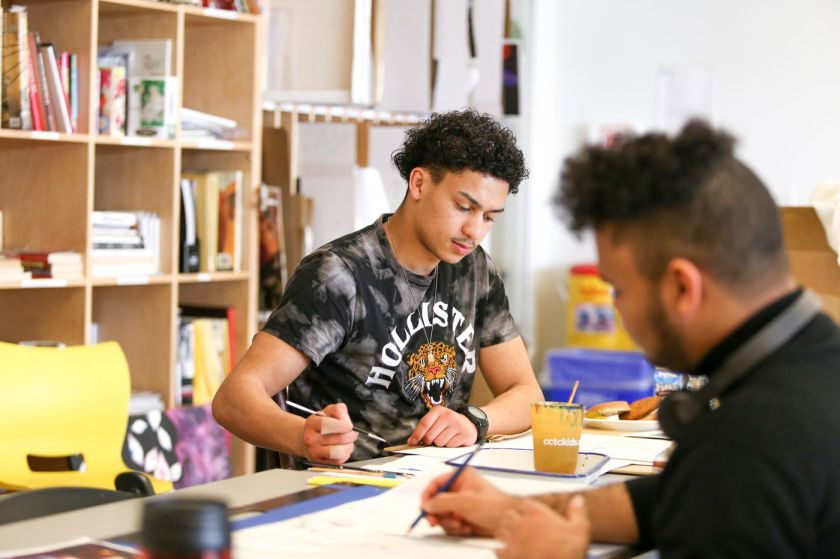 Arts center in city's poorest neighborhood teaches culture and salvation