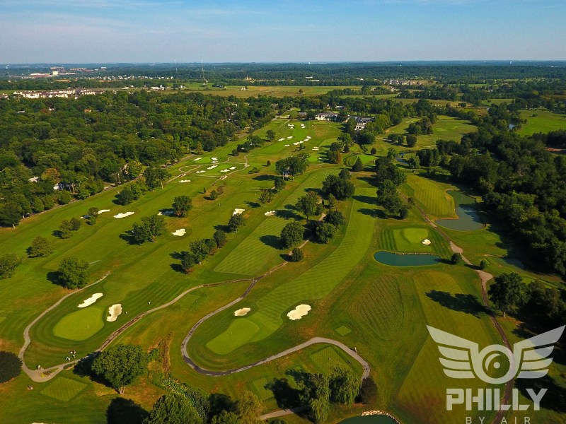 Philadelphia s 50 Most Beautiful Golf Courses Whitemarsh Valley Country Club