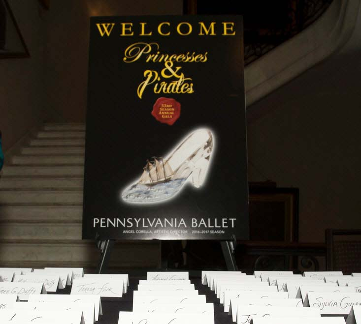 Princesses & Pirates Gala black-tie event will celebrate the start of Pennsylvania Ballet's 53rd Season at the elegant Union League of Philadelphia, and it's the only opportunity of the year to hit the dance floor with members of the Company!
