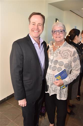 Michael Sheridan and Geni Klein