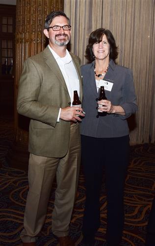 Dan McDevitt and Anne Bayless.
