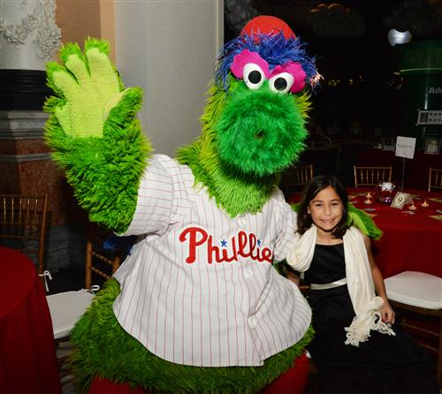The Philles Phanatic with Julia Sala.