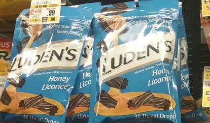 Ludens Cough Drops at Shoprite