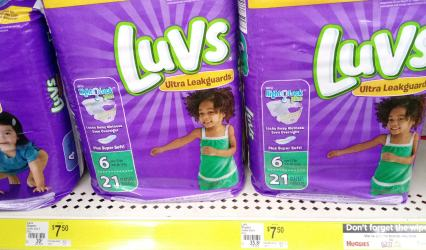 Luvs diapers dg