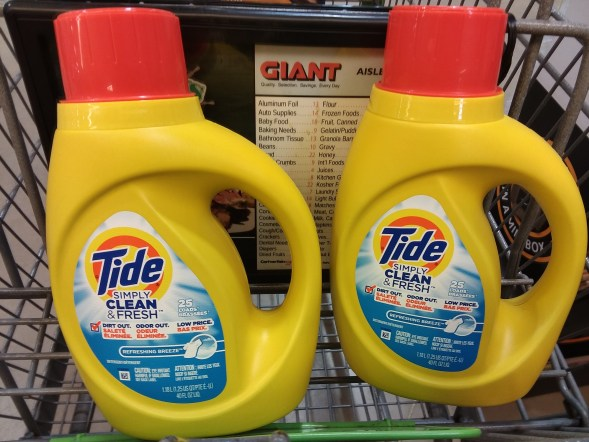 Tide Simply Clean at Giant - Phillycouponmom.com
