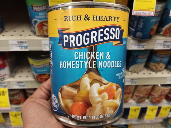 Progresso soup at CVS