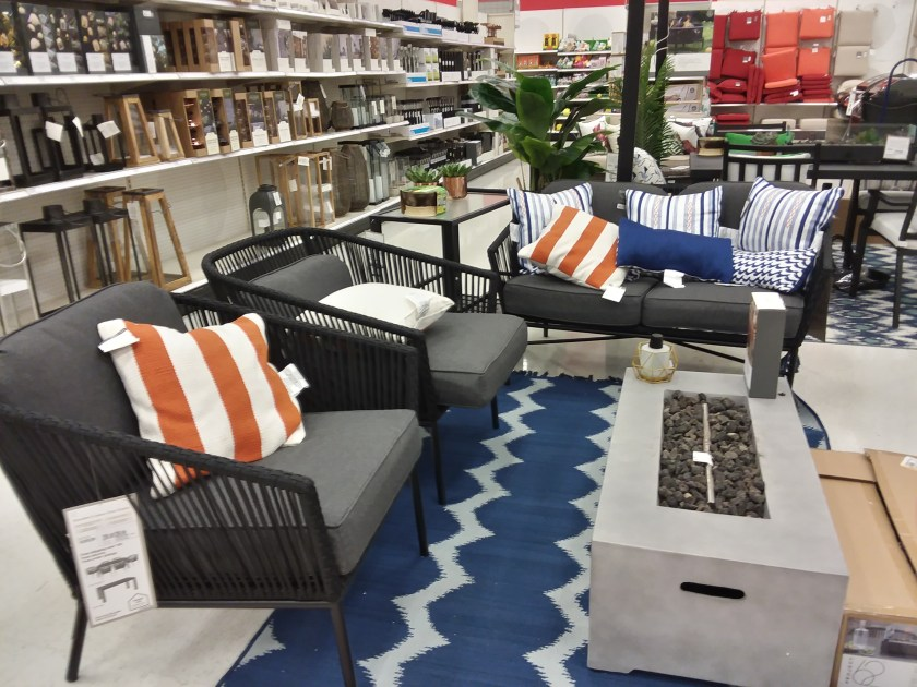 patio furniture at target
