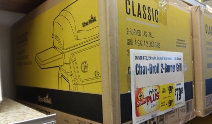 Char Broil Grill at Shoprite